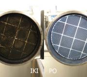 DPF filtrų plovimas – valymas mechaniniu būdu